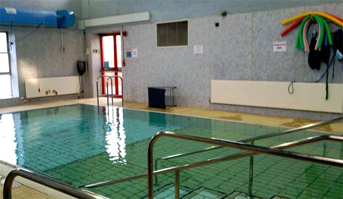 Swimming Lessons at Milton Keynes Hospital Hydro Pool